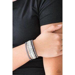 Rock Star Rocker - Blue Bracelet 4094